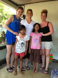 Our sponsor children in Bali!